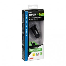 PRISE PLUG IN 2 DOUBLE USB 12/24V