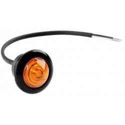 FEU A LED ENCASTRABLE ORANGE 12/24V
