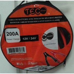 CABLE DE DEMARRAGE 200A 12/24V TEC