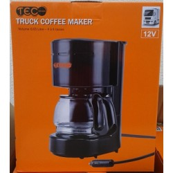 CAFETIERE 6 TASSES 12V VOLUME 0,65L 170W