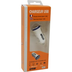 CHARGEUR AC BLANC 2500MA 1 SORTIE USB TEC