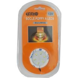 SUPPORT DESO TEC 12V BLANC