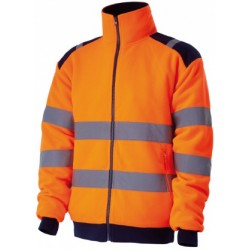 VESTE POLAIRE HV ORANGE XXXL