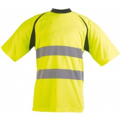 T-SHIRT HV JAUNE XL