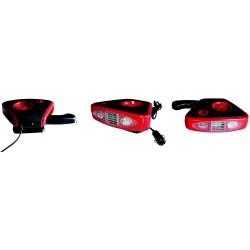 CHAUFFAGE / DEGIVREUR AVEC LAMPE LED INTEGREE 12V 150W