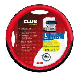 COUVRE VOLANT CLUB 46/48 ROUGE