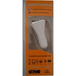 CHARGEUR 4 USB 12/24V
