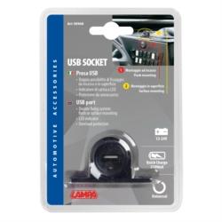PRISE USB 12/24V 2100MA