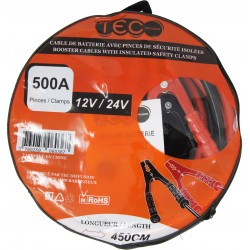 CABLE DE DEMARRAGE 500A 12/24V TEC