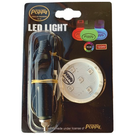 SUPPORT POPPY GRACE MATE LED RGB PRISE AC