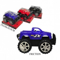 VOITURE 4 X 4 A FRICTION 15CM