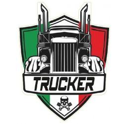 STICKER 3D PM TRUCKER ITALIE