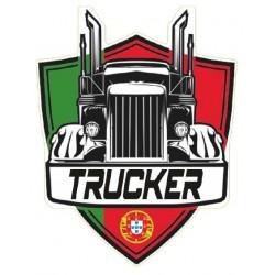 STICKER 3D PM TRUCKER PORTUGAL