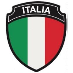 STICKER 3D GM BLASON ITALIE