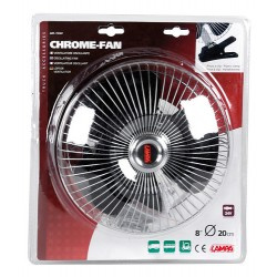 VENTILATEUR CHROME24V