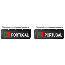 BAVETTE 18X60.FIX. PORTUGAL NOIRE/BLANCHE