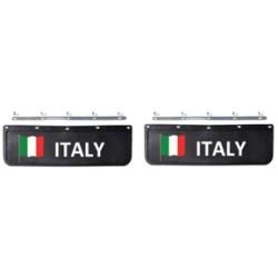 BAVETTE 18X60.FIX. ITALIE NOIRE/BLANCHE