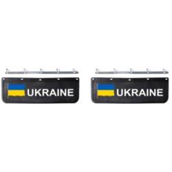 BAVETTE 18X60.FIX. UKRAINE NOIRE/BLANCHE
