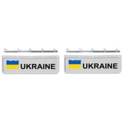 BAVETTE 18X60.FIX. UKRAINE BLANCHE/NOIRE