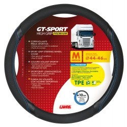 COUVRE VOLANT GT SPORT 44/46  N/B