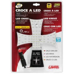 CROIX A LED 24V BLANCHE